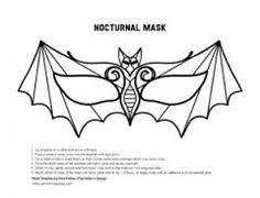 bat mask template halloween pinterest bat mask mask