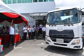 edaran tan chong motor launches ud trucks and tcie launch all new croner in east malaysia tcie