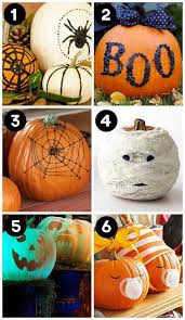 No Carve Pumpkin Decorating Ideas Halloween Pumpkin Decorating Ideas No Carving Part 19 Good