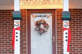 craft create cook snowman porch decorations craft create cook