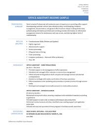accounting assistant resume sample office assistant resume samples and templates office assistant resume