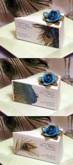 peacock wedding favors peacock wedding favor cake boxes favors someday 3