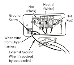 dryer plug wiring diagram how to wire a outlet 3 prong with for