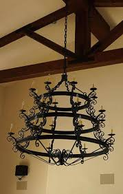 Spanish Revival Chandelier Spanish Revival Wrought Iron Chandelier Spanish Colonial