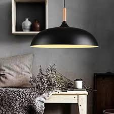 Living Room Pendant Lights Retro Pendant Lights Painting Wood Metal Dining Room Living Room
