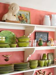 photos hgtv pink cottage kitchen with open shelves loversiq