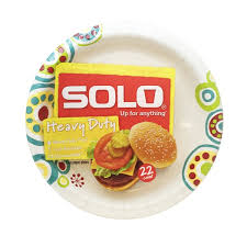 Decorated Paper Kroger Solo Heavy Duty Decorated Paper Plate Delivery Online In