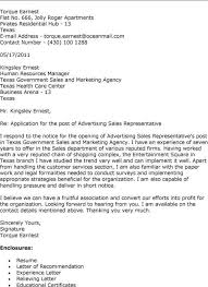 advertising sales director cover letter