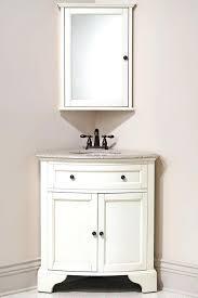 Compact Vanities Vanities Barca Corner Vanity Unit White Corner Cloakroom Basins