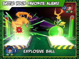 ben 10 slammers u2013 galactic alien collectible card battle game