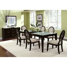 cheap extendable dining table 6 chairs circular dining table with