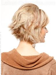 pictures of short layered hairstyles that flip out hairstyle tutorial layered flipped cut with volume at crown back