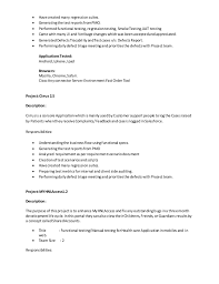Testing Resumes 7 Years Experience Salesforce Testing Resume