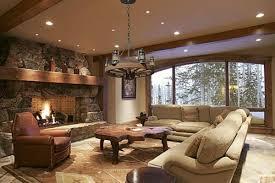 rustic livingroom modern rustic living room lightandwiregallery