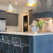 Blue Kitchen Backsplash by Chevron Backsplash Contemporary Kitchen Von Fitz Design