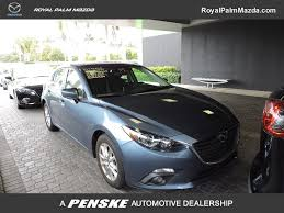 mazda mazda3 2015 used mazda mazda3 5dr hb i tour at at royal palm mazda