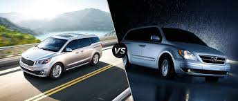 luxury minivan 2016 2016 kia sedona vs hyundai entourage