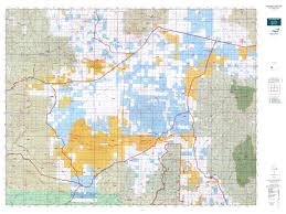 Topographical Map Of New Mexico by New Mexico Gmu 16e Map Mytopo