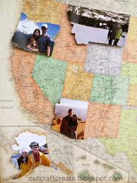 Show Map Of The United States by Diy Travel Photo Map Such A Fun Idea For The Family That Loves
