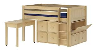 Kids Loft Bed With Storage Kids Beds Kids Bedroom Furniture Bunk Beds U0026 Storage Maxtrix