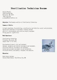 Resume Sample Lab Technician by Dental Service Technician Resume Sample Medical Laboratory