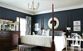 bedroom simple stunning dark blue bedroom design attractive navy