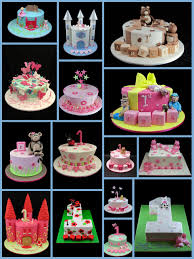 1st birthday cakes for girls inspired by michelle