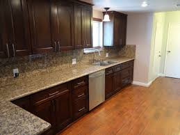wood stain colors for kitchen cabinets loversiq kitchen tile floors with oak cabinets home design and decor image of
