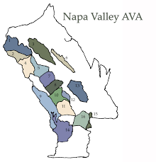 Map Of Napa Valley High Heeled Traveler Exploring Wine Napa Valley Ava