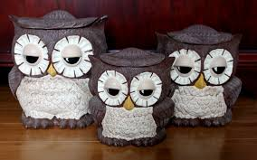 owl kitchen canisters home design gallery image and wallpaper - Owl Kitchen Canisters