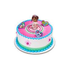 doc mcstuffin cake toppers doc mcstuffins lambie cake deco set