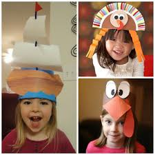 thanksgiving hats easy last minute thanksgiving activities crafts betsys