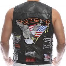 biker waistcoat online buy wholesale mens sheepskin vest from china mens sheepskin