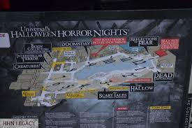 halloween horror nights hollywood map 2016 legendary truth the collective hhn legacy
