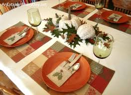 be creative cozy and warm homespun table setting an