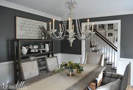 Dear Chandelier Dear Lillie A Few Tiny Changes In The Dining Room