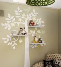 birdy tree shelf room wall decal kid s room decals