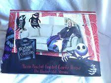 Jack Skellington Comforter Set Nightmare Before Christmas Bedding Ebay