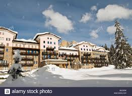 residence grand hotel karezza carezza bolzano italy stock photo