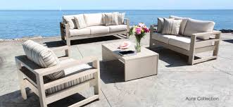 aluminum patio furniture best of aura cast aluminum patio