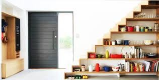 home interior shelves 40 stairs storage space and shelf ideas to maximize your