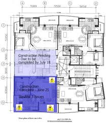 construction plans manage construction punch lists via an interactive floor plan