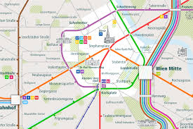 Vienna Metro Map by Europe Archives Urban Map