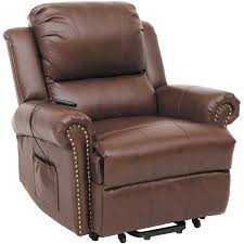Vintage Brown Leather Chair Chairs Appealing Recliner Chairs Design Recliner Couch Recliner