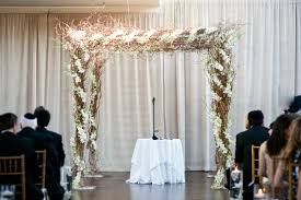 chuppah canopy 15 wedding canopy ideas organic chuppah with white