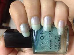 avon nail wear pro nail enamel in chilling teal review and