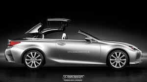 hardtop convertible cars imagining a lexus rc convertible part two lexus enthusiast