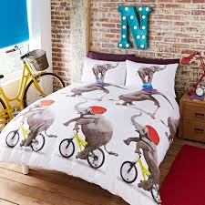 nellie the elephant u0027 bed set bedding includes duvet cover and