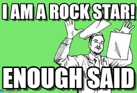Paper Throwing Meme - i am a rock star throwing papers in the air meme on memegen