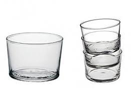 bicchieri vetro bicchiere coppetta vetro bodega cl 22 5 conf 12 casalinghi shop